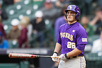 LSU Tigers first baseman Chris Chinea (26) during the NCAA baseball game against the Baylor Bears on March 7, 2015 in the Houston College Classic at Minute Maid Park in Houston, Texas. LSU defeated Baylor 2-0. (Andrew Woolley/Four Seam Images)
