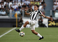 Calcio, Serie A: Torino, Allianz Stadium, 19 agosto 2017. <br /> Juventus' Paulo Dybala in action during the Italian Serie A football match between Juventus and Cagliari at Torino's Allianz Stadium, August 19, 2017.<br /> UPDATE IMAGES PRESS/Isabella Bonotto