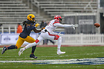 Utah Utes wide receiver Raelon Singleton (11) in action during the Zaxby's Heart of Dallas Bowl game between the Utah Utes vs. West Virginia Mountaineers at the Cotton Bowl Stadium in Dallas, Texas.