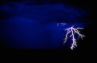 The Images from the Book Journey through Color and Time, Lightning strike in the outback of Australia