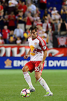 Harrison, NJ - Wednesday Aug. 03, 2016: Damien Perrinelle during a CONCACAF Champions League match between the New York Red Bulls and Antigua at Red Bull Arena.