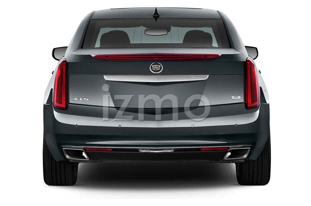 Rear view of a 2013 Cadillac XTS Platinum sedan