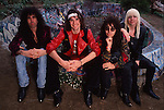 Various portrait sessions of the rock band, D'Molls