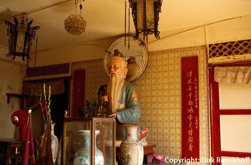 daoistischer Tempel in Saigon, Vietnam