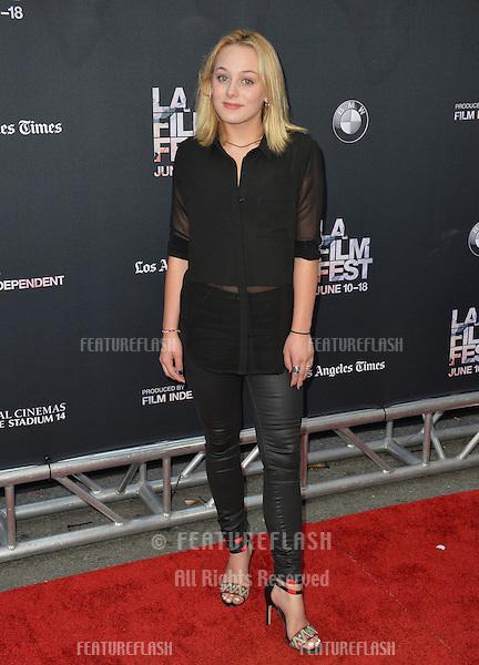 """Ellery Sprayberry at the LA Film Festival premiere of MTV's """"Scream"""" at the Regal Cinema LA Live. <br /> June 14, 2015  Los Angeles, CA<br /> Picture: Paul Smith / Featureflash"""