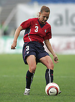 MAR 15, 2006: Faro, Portugal:  Christie Rampone
