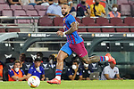 FC Barcelona's Memphis Depay during La Liga match. August 15, 2021. (ALTERPHOTOS/Acero)