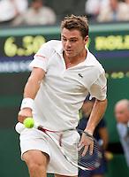 29-6-09, England, London, Wimbledon,   Stanislas Wawrinka