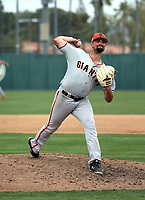 CJ Gettman - San Francisco Giants 2019 spring training (Bill Mitchell)
