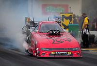 Sep 27, 2020; Gainesville, Florida, USA; NHRA funny car driver Matt Hagan during the Gatornationals at Gainesville Raceway. Mandatory Credit: Mark J. Rebilas-USA TODAY Sports