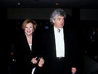 Jeannette Bertrand<br />  et son mari, mars 1994<br /> <br /> PHOTO : Agence Quebec Presse