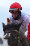 January 18, 2016: Jockey Calvin Borel aboard #7 Black Ops before the running of the Smarty Jones Stakes at Oaklawn Park in Hot Springs, AR. Justin Manning/ESW/CSM