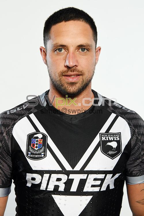 Gerard Beale.<br /> Headshots of the New Zealand Kiwis rugby league team, Auckland, New Zealand. 7 October 2018.<br /> Copyright photo: Andrew Cornaga / www.photosport.nz - ©PhotosportNZ/SWpix.com