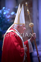 Mass for Cardinals who died during the year on Benedict XVI at The Vatican.November 5, 2009