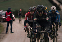 Not a great day for Greg Van Avermaet (BEL/BMC) as the ambitious belgian will never play any significant part in todays race.<br /> <br /> 12th Strade Bianche 2018<br /> Siena > Siena: 184km (ITALY)
