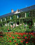 Frankreich, Haute-Normandie, Département Eure, Giverny: Monet's Haus und Garten | France, Haute-Normandy, Département Eure, Giverny: Monet's Garden & House