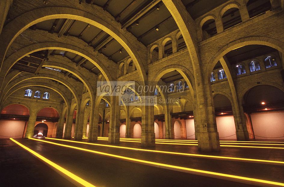 Europe/France/Aquitaine/33/Gironde/Bordeaux: Entrepot Laine, musée d'art contemporain