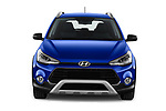 Car photography straight front view of a 2020 Hyundai i20-Active Active 5 Door Hatchback Front View