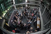 2. NSU-Untersuchungsausschuss dees Deutschen Bundestag.<br /> Aufgrund vieler Ungeklaertheiten und Fragen sowie vielen neuen Erkenntnissen ueber moegliche Verstrickungen verschiedener Geheimdienste in das Terror-Netzwerk Nationalsozialistischen Untergrund (NSU) wurde von den Abgeordneten des Bundestgas ein zweiter Untersuchungsausschuss eingesetzt.<br /> Am Donnerstag den 17. Dezember fand die 1. oeffentliche Sitzung des 2. NSU-Untersuchungsausschuss des Deutschen Bundestag statt.<br /> Im Bild: Der Ausschussvorsitzende Clemens Binninger beim seinem Pressestatement.<br /> 17.12.2015, Berlin<br /> Copyright: Christian-Ditsch.de<br /> [Inhaltsveraendernde Manipulation des Fotos nur nach ausdruecklicher Genehmigung des Fotografen. Vereinbarungen ueber Abtretung von Persoenlichkeitsrechten/Model Release der abgebildeten Person/Personen liegen nicht vor. NO MODEL RELEASE! Nur fuer Redaktionelle Zwecke. Don't publish without copyright Christian-Ditsch.de, Veroeffentlichung nur mit Fotografennennung, sowie gegen Honorar, MwSt. und Beleg. Konto: I N G - D i B a, IBAN DE58500105175400192269, BIC INGDDEFFXXX, Kontakt: post@christian-ditsch.de<br /> Bei der Bearbeitung der Dateiinformationen darf die Urheberkennzeichnung in den EXIF- und  IPTC-Daten nicht entfernt werden, diese sind in digitalen Medien nach §95c UrhG rechtlich geschuetzt. Der Urhebervermerk wird gemaess §13 UrhG verlangt.]