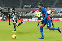 2nd February 2021; St James Park, Newcastle, Tyne and Wear, England; English Premier League Football, Newcastle United versus Crystal Palace; van Aanholt of Palace comes forward on the ball