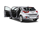 Car images close up view of 2017 Hyundai Elantra Gt 5 Door Hatchback doors