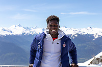 CRANS-MONTANA, SWITZERLAND - MAY 28: Yunus Musah of the United States at Pointe de la Plaine Morte on May 28, 2021 in Crans-Montana, Switzerland.