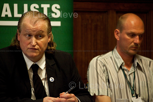 Gavin Millar, QC and Jason Parkinson, journalist - 2012 <br />