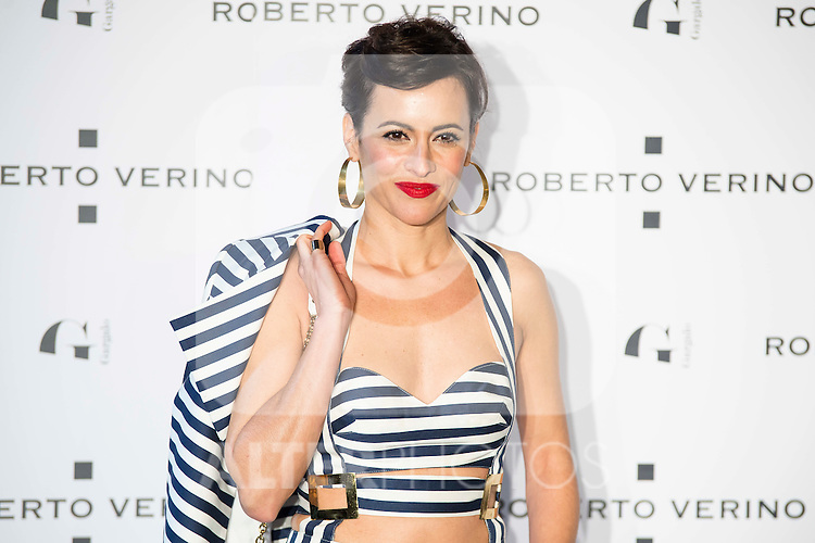 """Ana Turpin during the presentation of the new Spring-Summer collection """"Un Balcon al Mar"""" of Roberto Verino at Platea in Madrid. March 16, 2016. (ALTERPHOTOS/Borja B.Hojas)"""