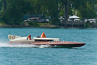 """13 July 2008  APBA Gold Cup.U-17 """"My Sweetie -John Francis-"""" Horace Dodge, Jrs.  displacement Unlimited .©2008 F.Peirce Williams."""