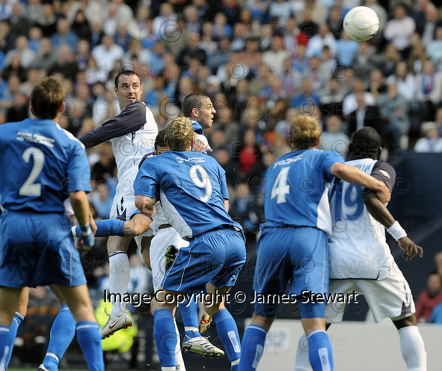 24/05/2008   Copyright Pic: James Stewart.File Name : sct_jspa08_qots_v_rangers.KRIS BOYD SCORES RANGERS THIRD.James Stewart Photo Agency 19 Carronlea Drive, Falkirk. FK2 8DN      Vat Reg No. 607 6932 25.Studio      : +44 (0)1324 611191 .Mobile      : +44 (0)7721 416997.E-mail  :  jim@jspa.co.uk.If you require further information then contact Jim Stewart on any of the numbers above........