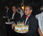 Food and drink at the party
