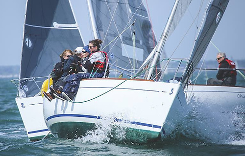 Small boats, big prize haul – the increasingly popular Beneteau 211s saw their champion, Jimmy Fischer's Billy Whizz, take DBSC's supreme prize in 2020.   Photo: Afloat.ie/David O'Brien