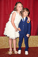 Ela May Demircan and Williams Hill<br /> arrives for the British Soap Awards 2016 at Hackney Empire, London.<br /> <br /> <br /> ©Ash Knotek  D3124  28/05/2016