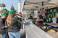 Pasadena, CA - Thursday June 09, 2016: Merchandise Booth during a Copa America Centenario Group C match between Mexico (MEX) and Jamaica (JAM) at Rose Bowl Stadium.