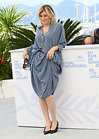 CANNES, FRANCE. July 10, 2021: Valeria Bruni Tedeschi at the photocall for Love Songs for Tough Guys at the 74th Festival de Cannes.<br /> Picture: Paul Smith / Featureflash