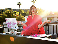 """PASADENA, CA - JUNE 14: DJ Michelle Pesce at HULU's original series """"The Handmaid's Tale"""" FYC Drive-In Screening And Virtual Panel at the Rose Bowl on June 14, 2021 in Pasadena, California. (Photo by Frank Micelotta/HULU/PictureGroup)"""