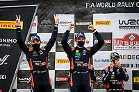 Nicolas (BEL), Hyundai i20 Coupe WRC, Hyundai Shell Mobis WRT, portrait, NEUVILLE Thierry (BEL), Hyundai i20 Coupe WRC<br /> Rally d'Italia 2020 Sardegna <br /> Foto Andre Lavadinho / Panoramic / Insidefoto <br /> ITALY ONLY
