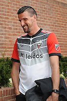 Washington D.C. - February 12, 2017: D.C. United presentation of their secondary uniform during the club's annual meet the team event at Pinstripes in Georgetown.
