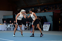Women's doubles final between Paige Hourigan / Vivian Yang and Holly Stewart / Sarah Weekly. 2019 Wellington Tennis Open finals at Renouf Centre in Wellington, New Zealand on Sunday, 22 December 2019. Photo: Dave Lintott / lintottphoto.co.nz