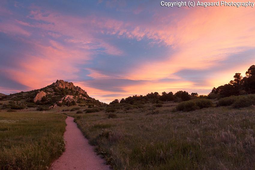 Dawn, Garden of the Gods, Colorado Springs