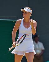England, London, Juli 04, 2015, Tennis, Wimbledon, Caroline Wozniacki (DEN)<br /> Photo: Tennisimages/Henk Koster