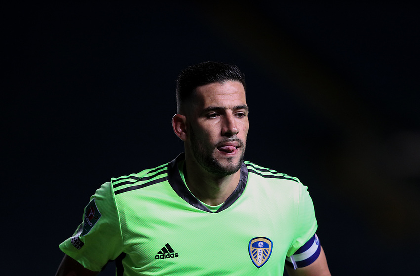 Leeds United's Kiko Casilla<br /> <br /> Photographer Alex Dodd/CameraSport<br /> <br /> Carabao Cup Second Round Northern Section - Leeds United v Hull City -  Wednesday 16th September 2020 - Elland Road - Leeds<br />  <br /> World Copyright © 2020 CameraSport. All rights reserved. 43 Linden Ave. Countesthorpe. Leicester. England. LE8 5PG - Tel: +44 (0) 116 277 4147 - admin@camerasport.com - www.camerasport.com