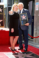 LOS ANGELES - FEB 24:  Tony Butala, girlfriend at the The Lettermen Star Ceremony on the Hollywood Walk of Fame on February 24, 2019 in Los Angeles, CA