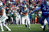 New York Jets running back Trenton Cannon (40) rushes for a touchdown during an NFL football game against the Buffalo Bills, Sunday, December 9, 2018, in Orchard Park, N.Y.  (Mike Janes Photography)
