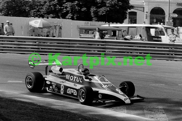 Richard Dallest at the Grand Prix Automobile de Pau 1981