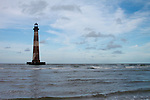 Morris Island Light House Folly Beach South Carolina