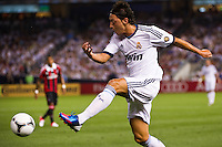 Mesut Ozil (10) of Real Madrid. Real Madrid defeated A. C. Milan 5-1 during a 2012 Herbalife World Football Challenge match at Yankee Stadium in New York, NY, on August 8, 2012.