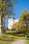 Austria, East-Tyrol, Lienz: Castle Bruck, today a town's museum | Oesterreich, Osttirol, Lienz: Schloss Bruck, heute ein Museum der Stadt
