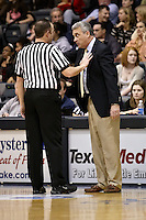 SAN ANTONIO, TX - JANUARY 24, 2009: The University of the Incarnate Word Cardinals vs. the St. Mary's University Rattlers at Bill Greehey Arena. (Photo by Jeff Huehn)