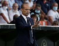 22nd September 2021; Picco Stadium, La Spezia, Italy; Serie A football, Spezia FC versus Juventus  FC: Massimilano Allegri coach of Juventus